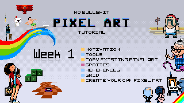 No Bullshit Pixel Art Tutorial — Marketing Strategy for