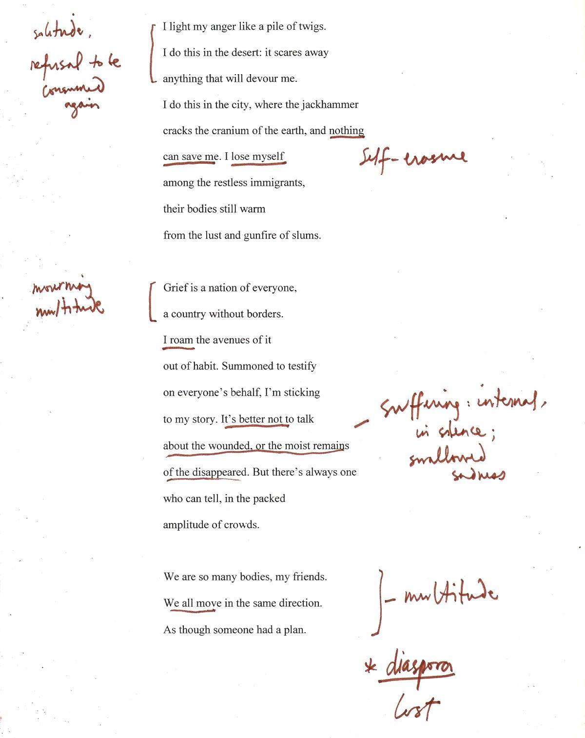 long distance ii poem