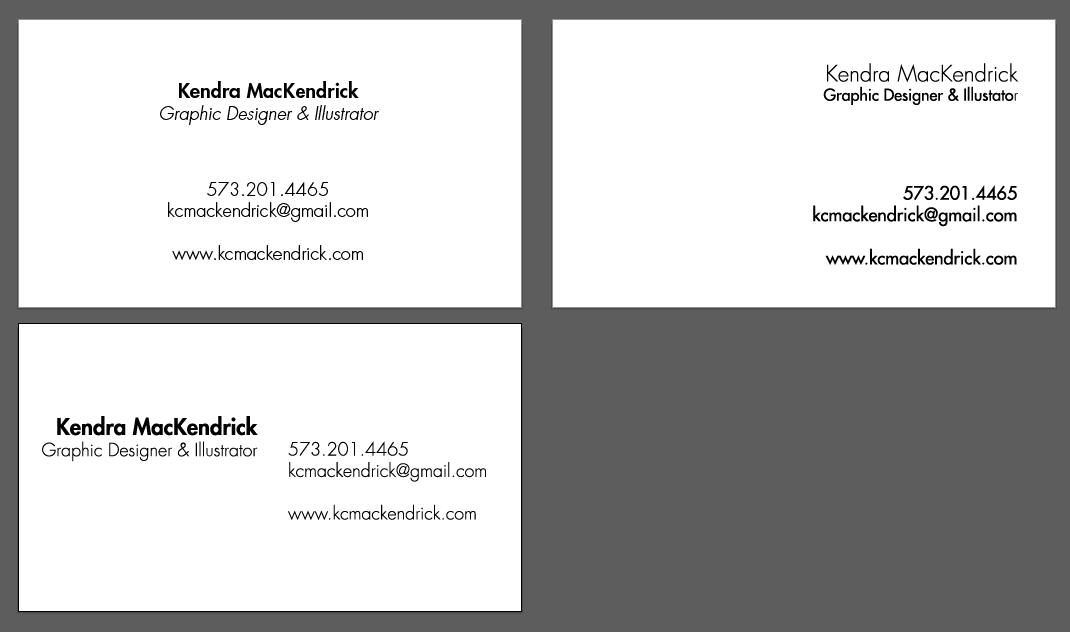 Business Card Design | Skillshare Projects