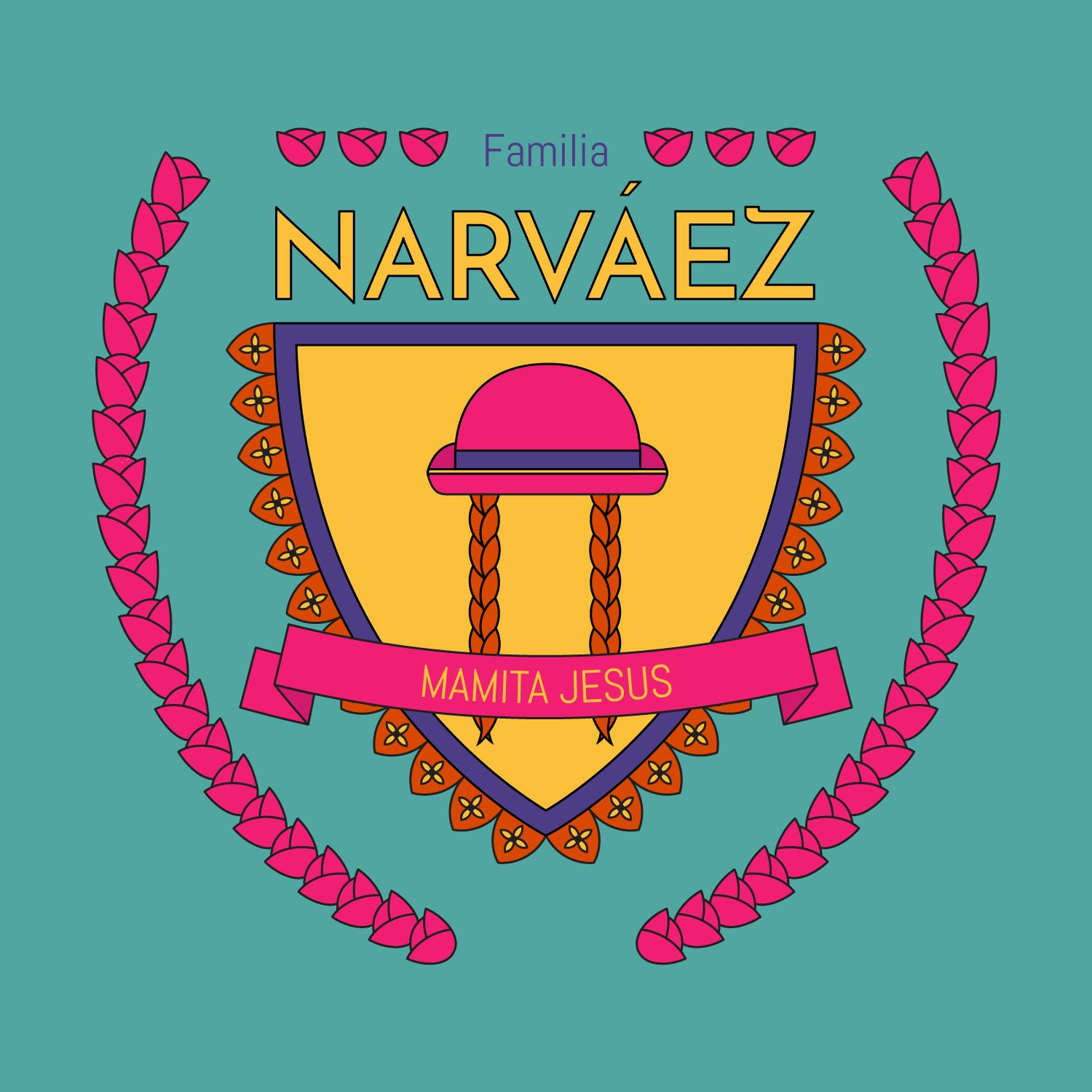 Narvez family crest skillshare projects 9cf52e74 buycottarizona Image collections