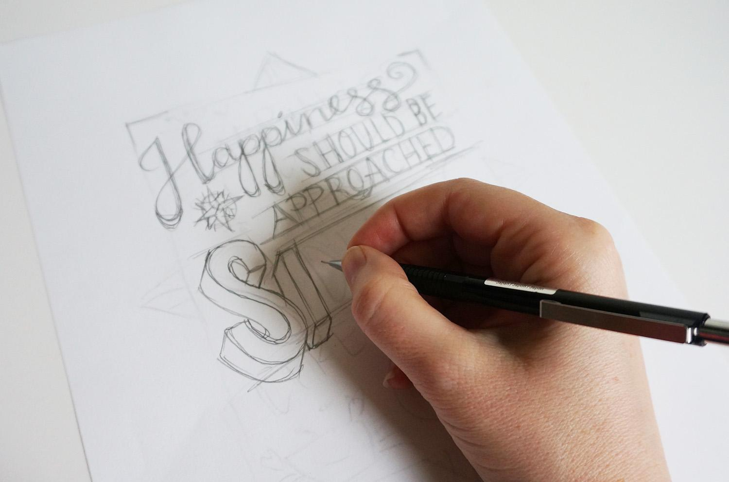 Create A Polished HandLettered Design In  Steps  Skillshare
