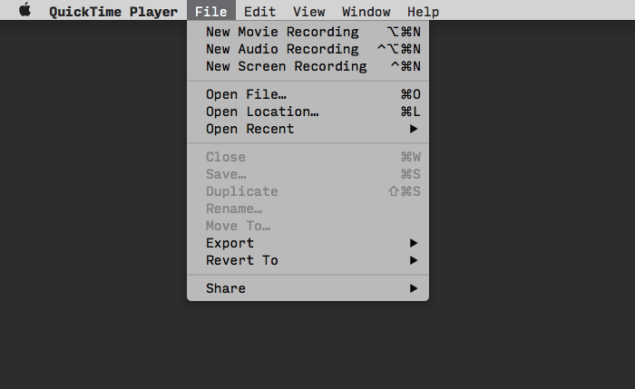 how to cut quicktime recording