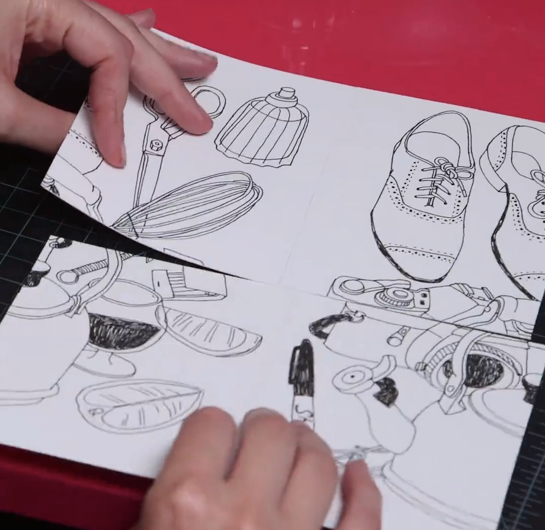 5 Steps To Illustrating A Repeat Pattern By Hand Skillshare