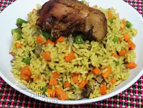 Recipe ghana fried rice skillshare recipe ghana fried rice ccuart Gallery