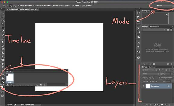 Drawing a GIF in Photoshop! - Skillshare