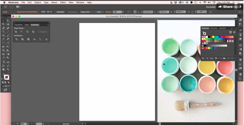 how to create metallic colour in adobe illustrator