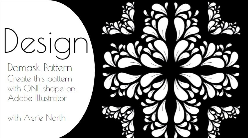 design damask patterns on adobe illustrator aerie north skillshare