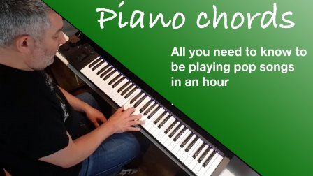 Piano Chords: An innovative shapes method to play piano in
