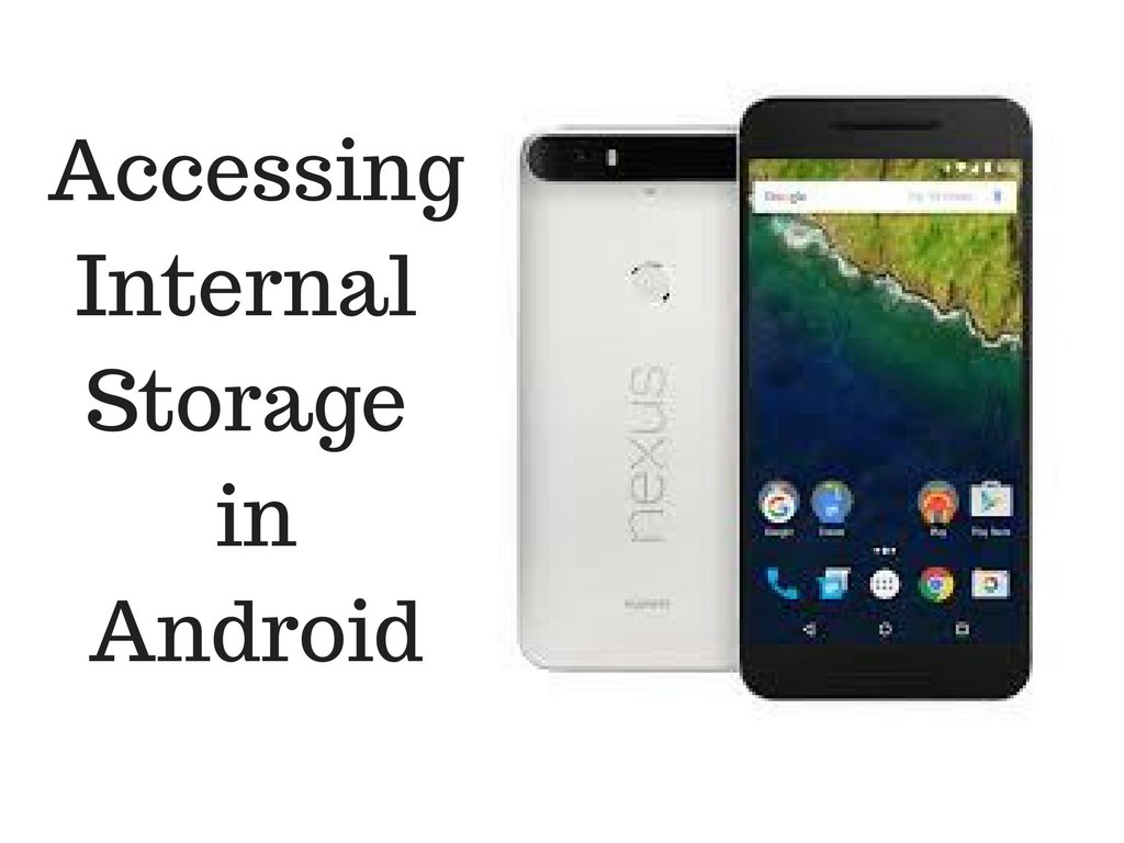 How to use Internal Storage in Android ?