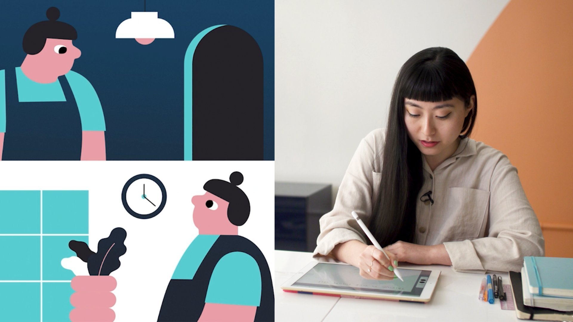 Digital Illustration: Streamlining Your Process with Adobe Tools | Jing Wei