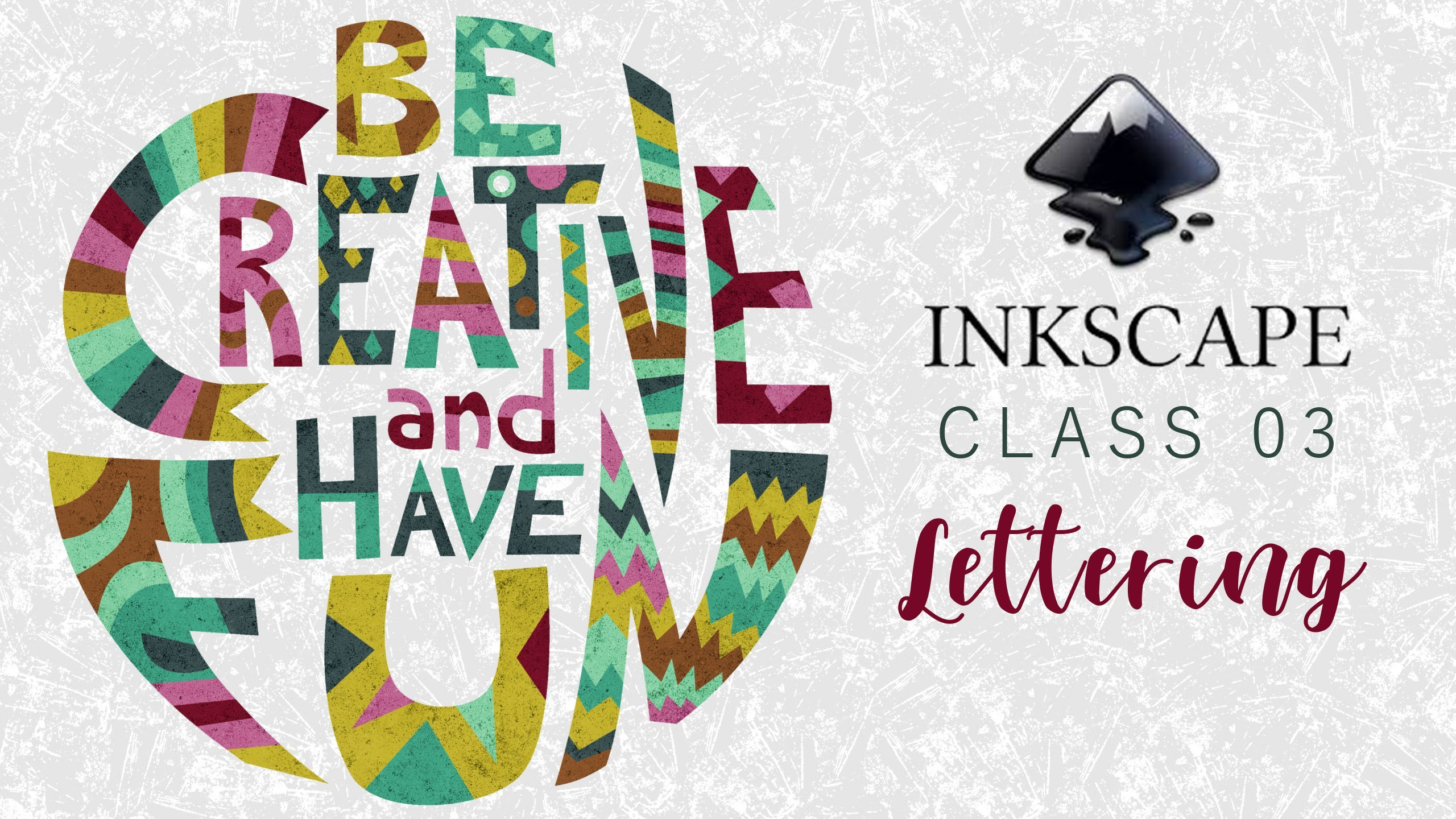Inkscape for beginners Class 03