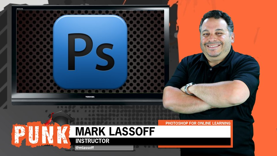 Photoshop Production For Online Learning Creating Lower Thirds