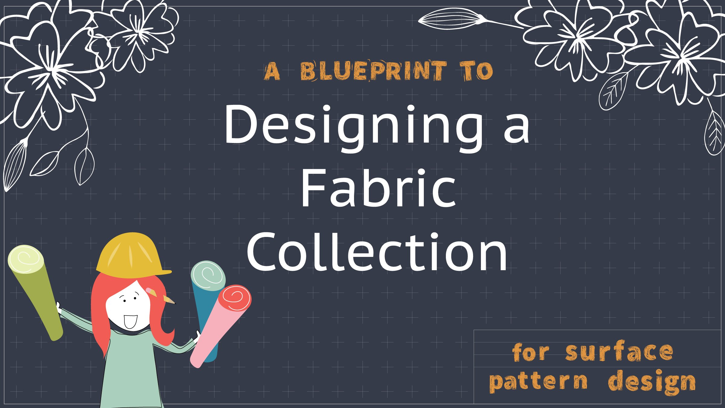 A blueprint to designing a fabric collection for surface pattern a blueprint to designing a fabric collection for surface pattern design deane christiansen skillshare malvernweather Images