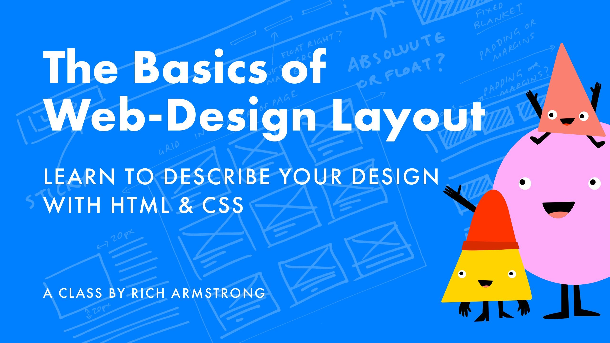 The basics of web design layout learn how to describe - How to learn web designing at home free ...