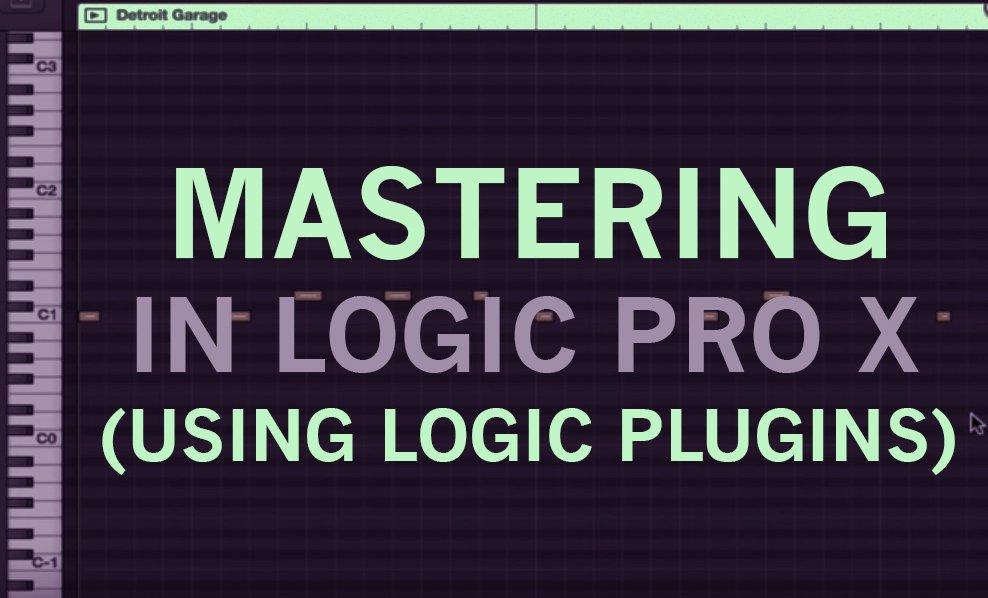 Mastering in Logic Pro X (using Logic plugins) | Tomas George