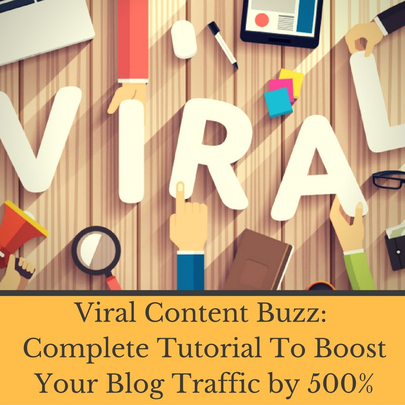 ✶Viral Content Buzz - Complete Tutorial To Boost Your Blog Traffic by 500% (2K UHD) | Srinidhi Ranganathan
