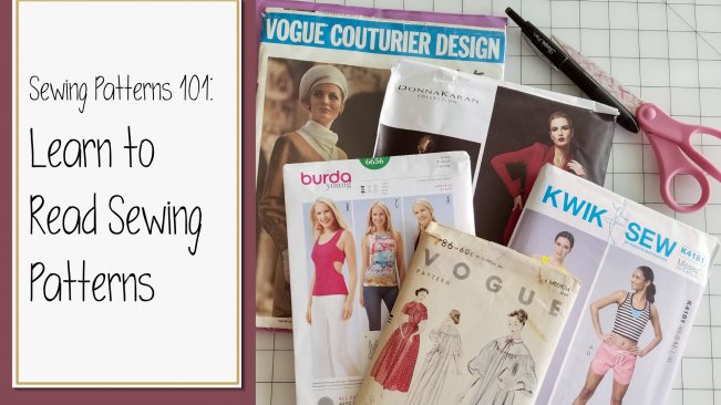 Sewing Patterns 101: Learn to Read Sewing Patterns | Ariana Bauer ...