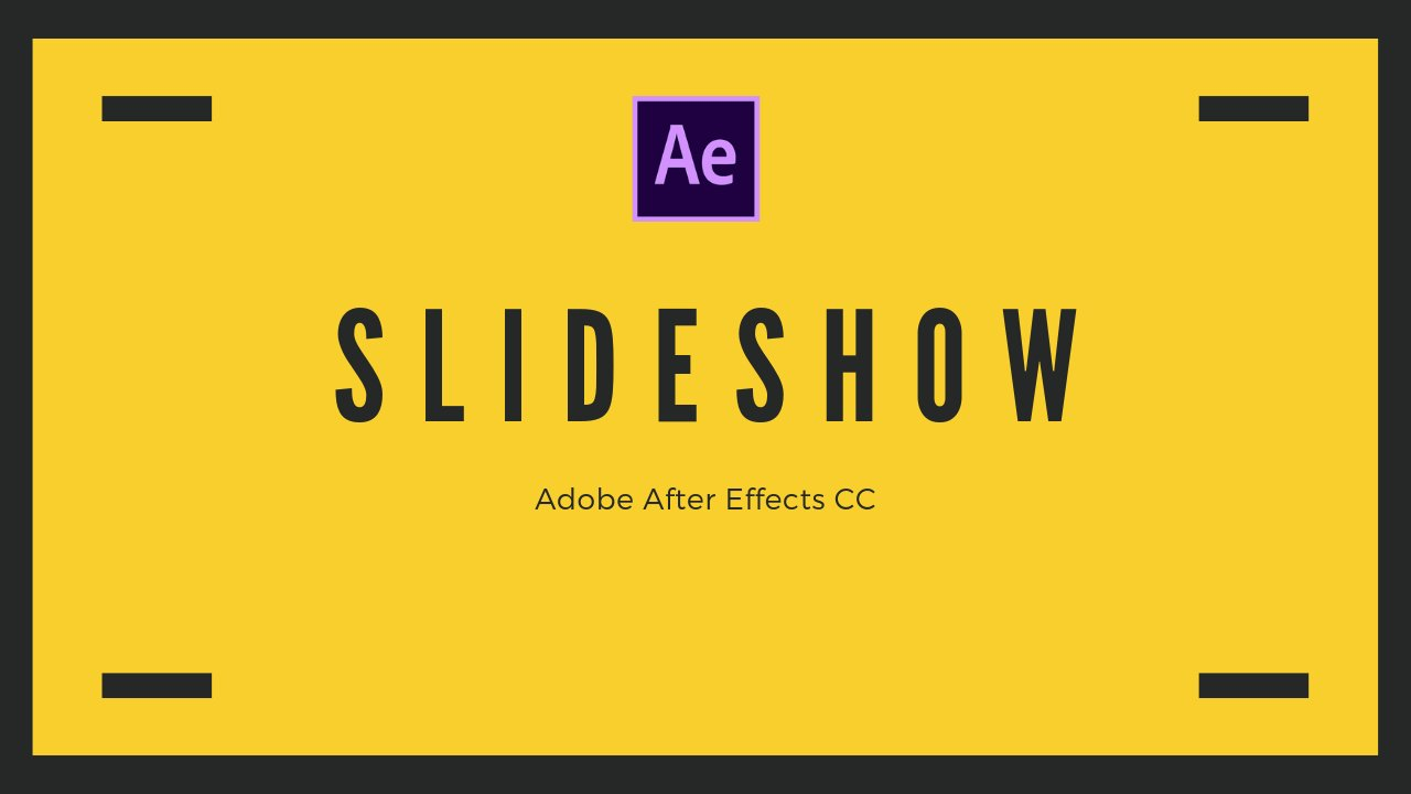 Adobe After Effects CC 2019 - Learn To Make A Corporate