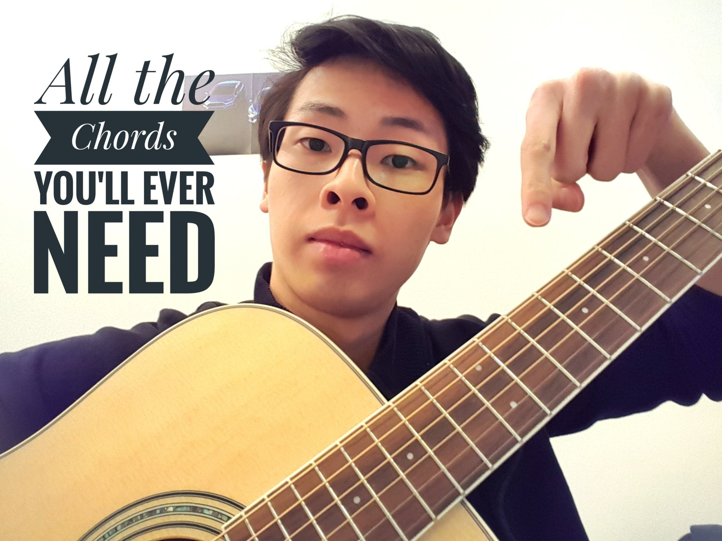 How To Play Any Song On The Guitar Cheater Chords Kaiwen Fan