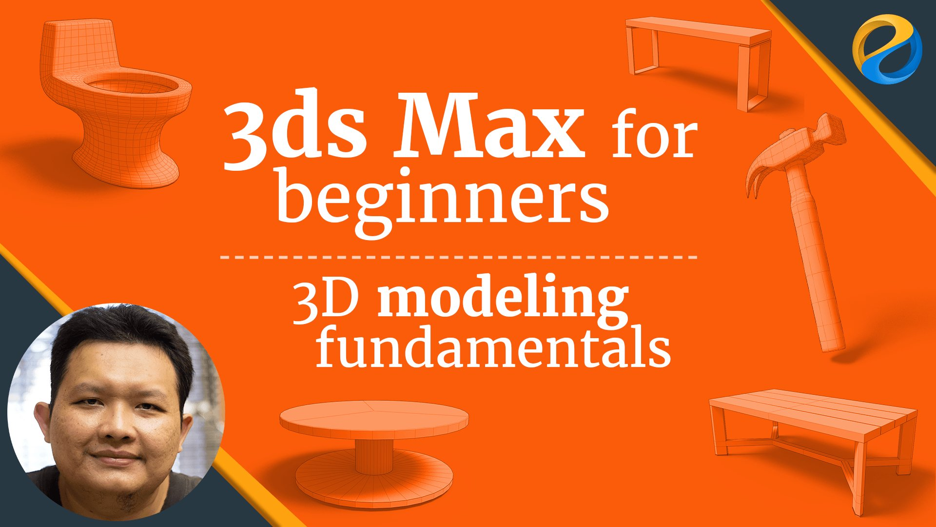 3ds max for beginners 3d modeling fundamentals widhi for 3d max lessons for beginners