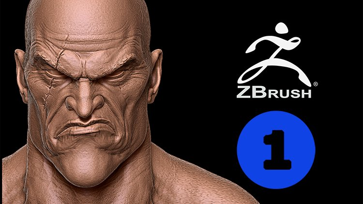 Vol  1 Kratos in Zbrush En: Head and Body | Mauricio García