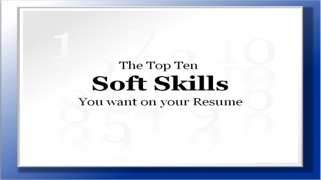 top ten soft skills you want on your resume fiona mackay young skillshare