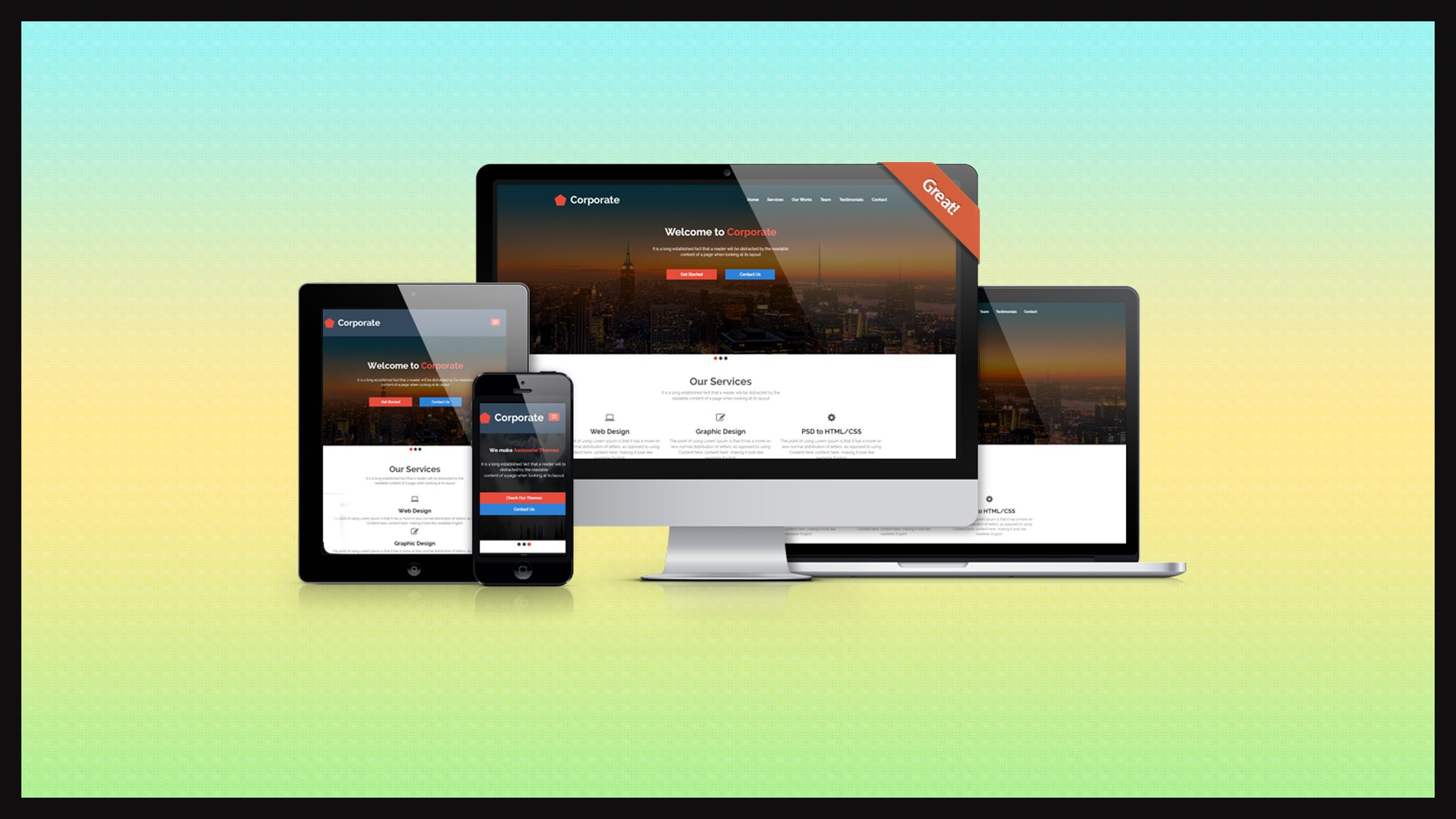 Skillshare 100% Free : Learn PSD to Responsive Parallax HTML/CSS Web Design