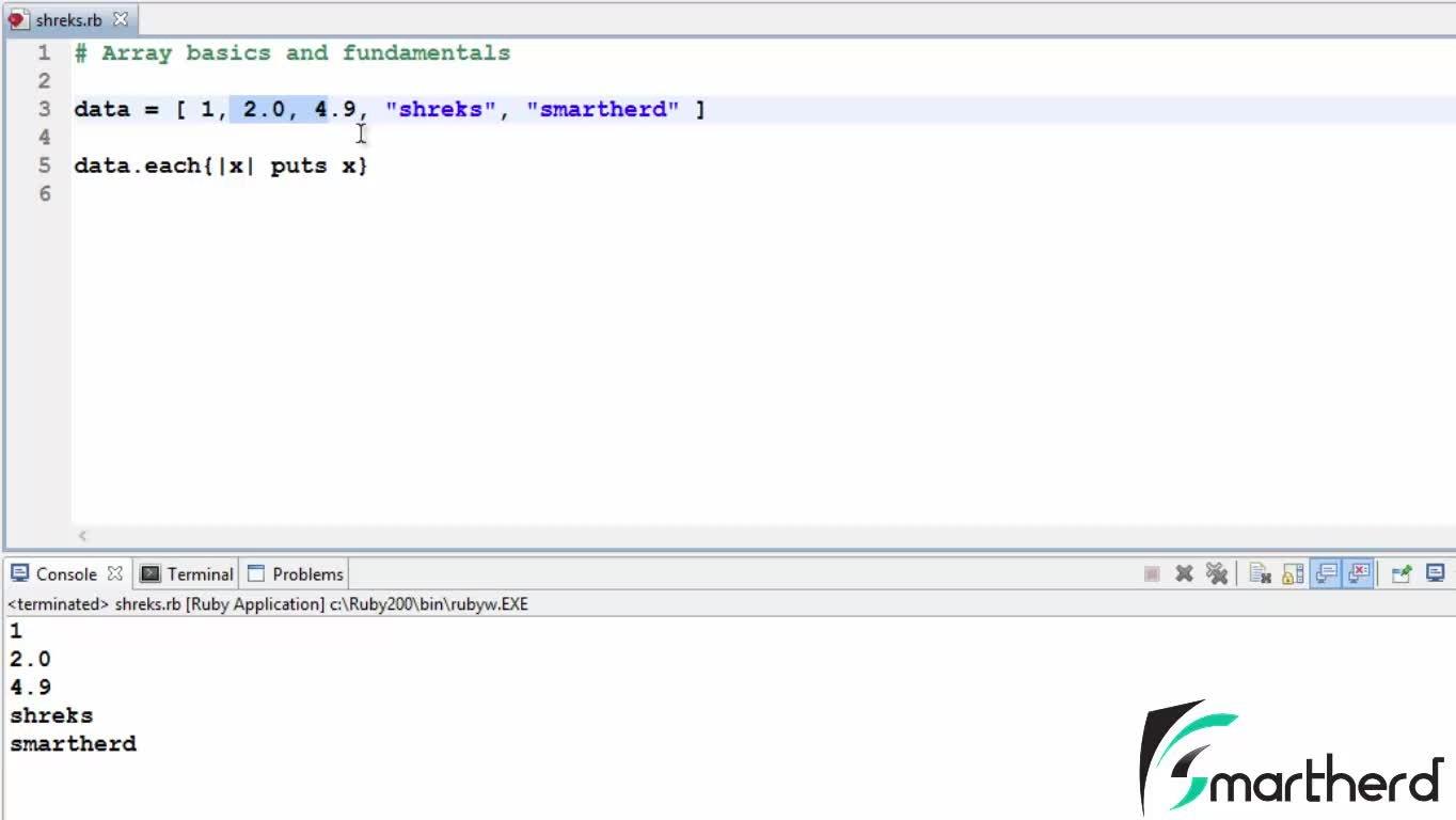 Ruby Programming Tutorials : Part - 2 | Smartherd Developers