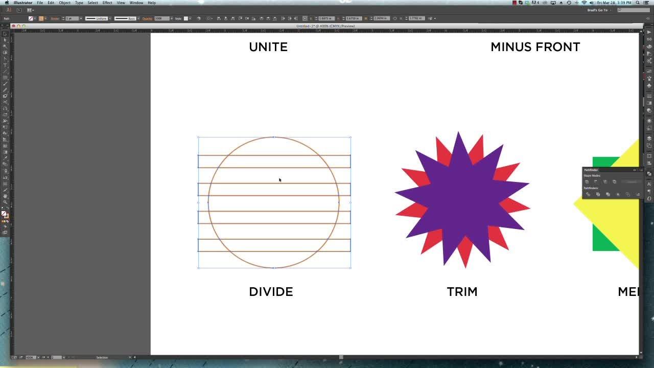Fundamentals of Illustrator II: Paths, Shapes & Lines | Brad