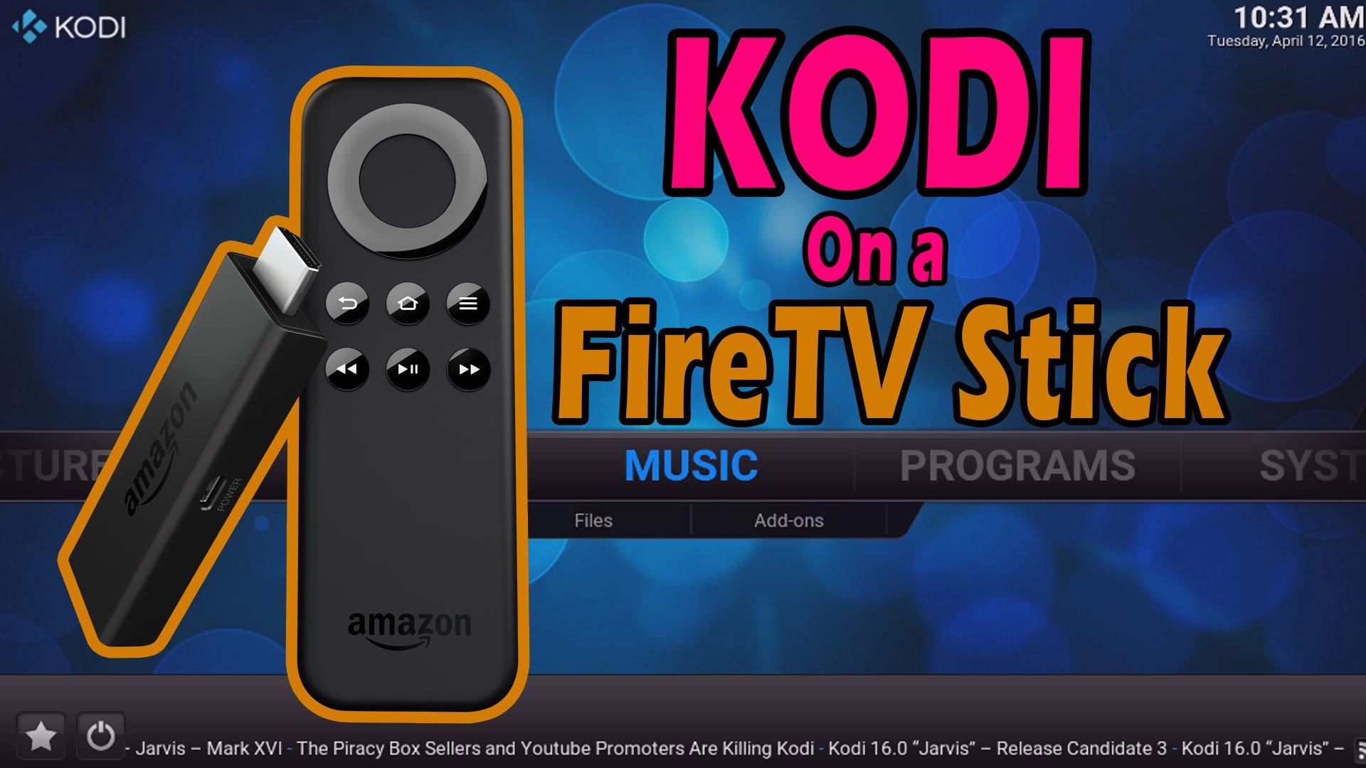 How to Install KODI onto your Amazon FireTV Stick