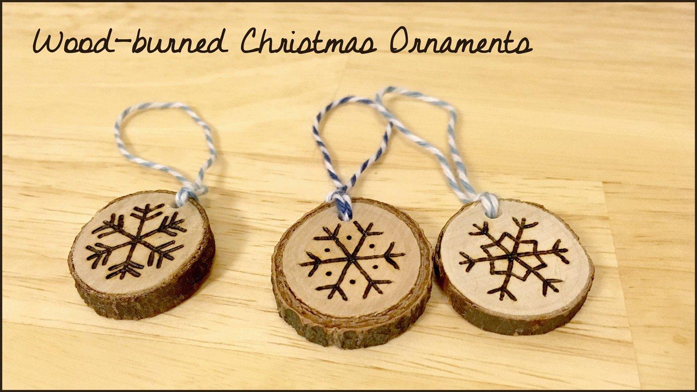 Wood Burned Snowflake Christmas Ornaments Patterns Included Allison Sattgast Skillshare