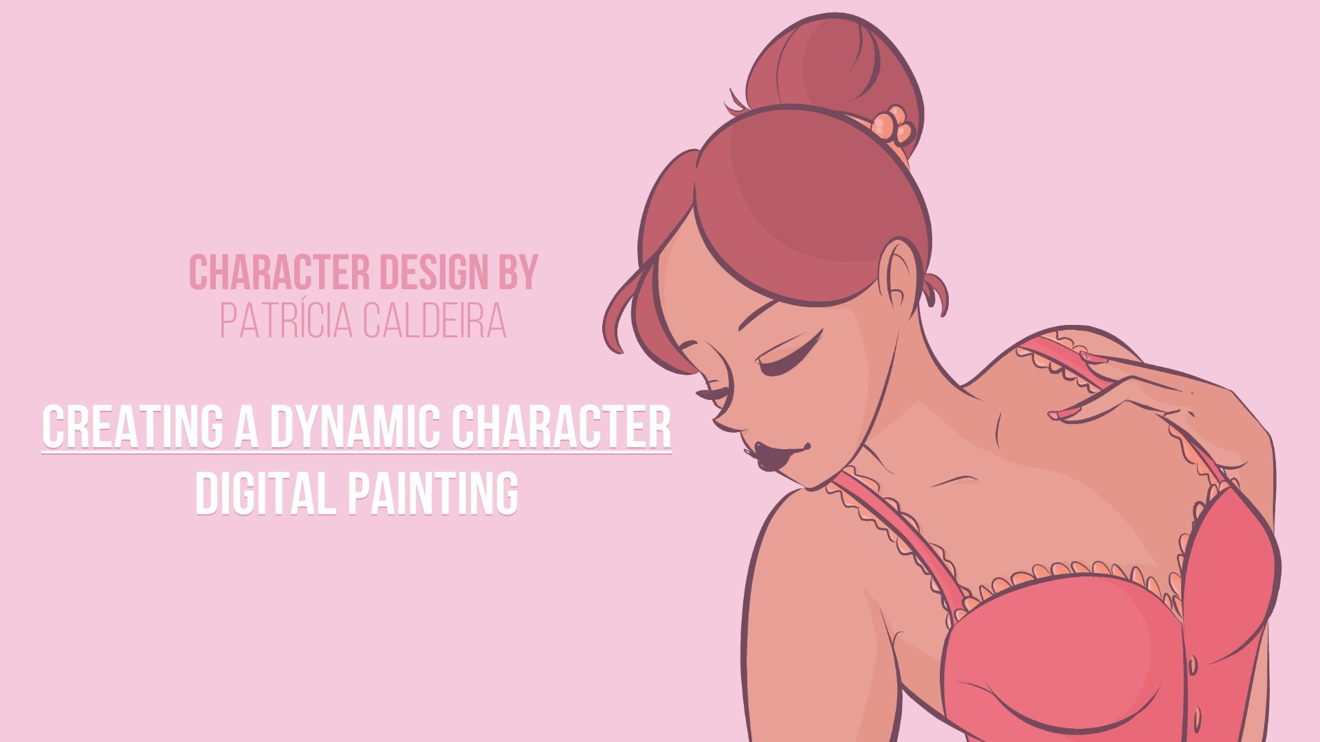 Dynamic Character Design Definition : Creating a dynamic character digital painting patricia
