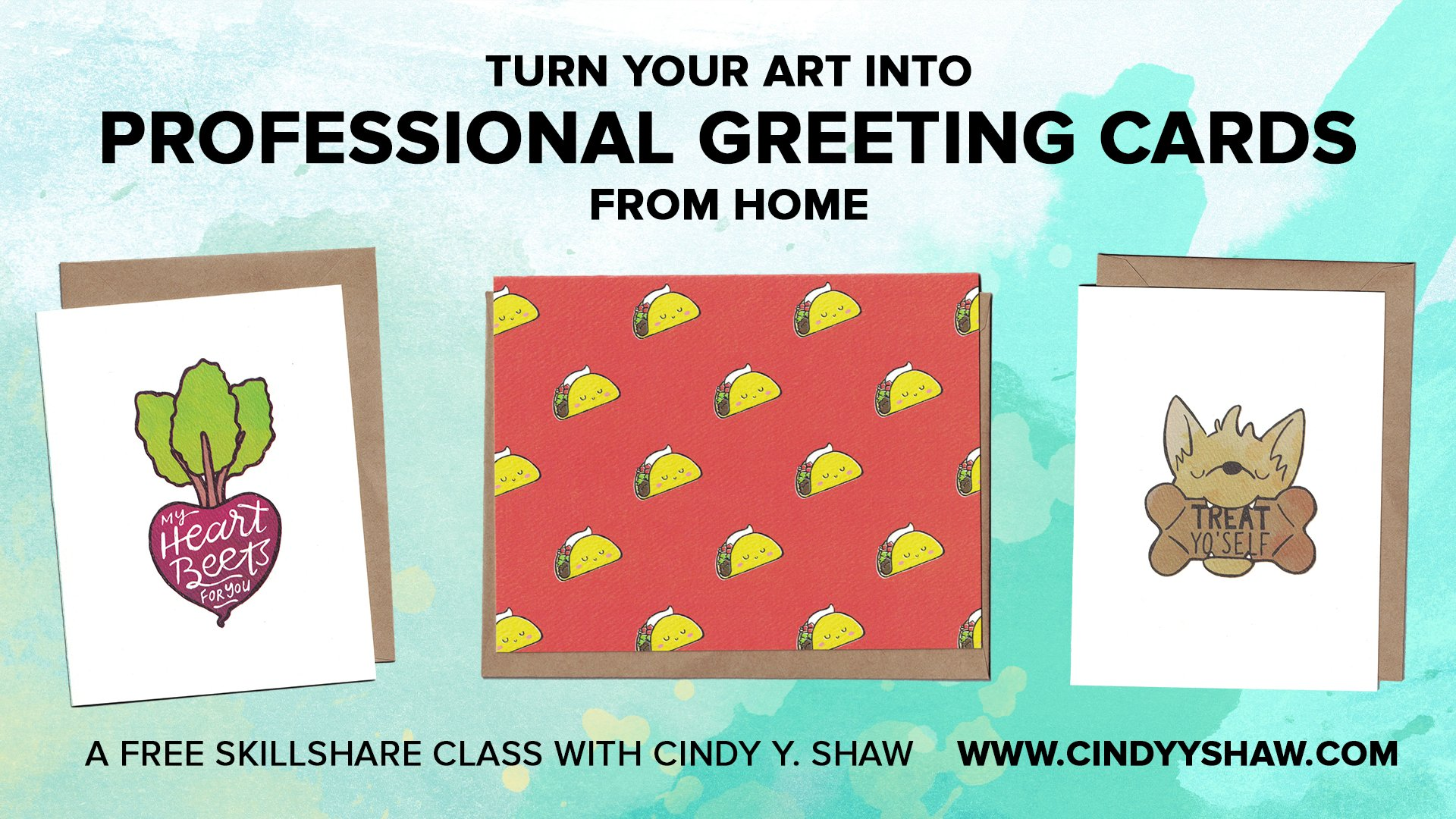 Turn your art into professional greeting cards from home cindy turn your art into professional greeting cards from home cindy shaw skillshare m4hsunfo