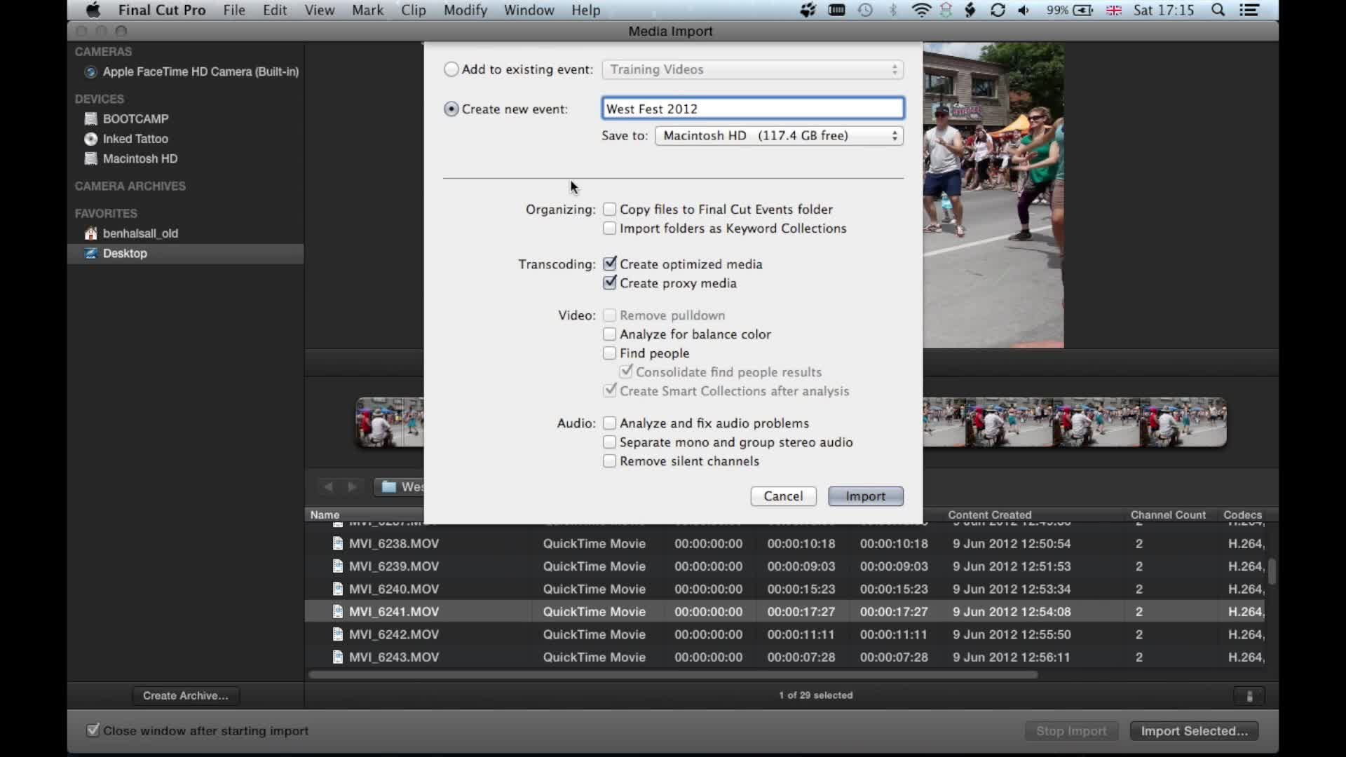 Howto Recordiphonescreenfrommac2g Importing Media Import Quicktime Video  Into Final Cut Learn To Edit Using Final Cut Pro X