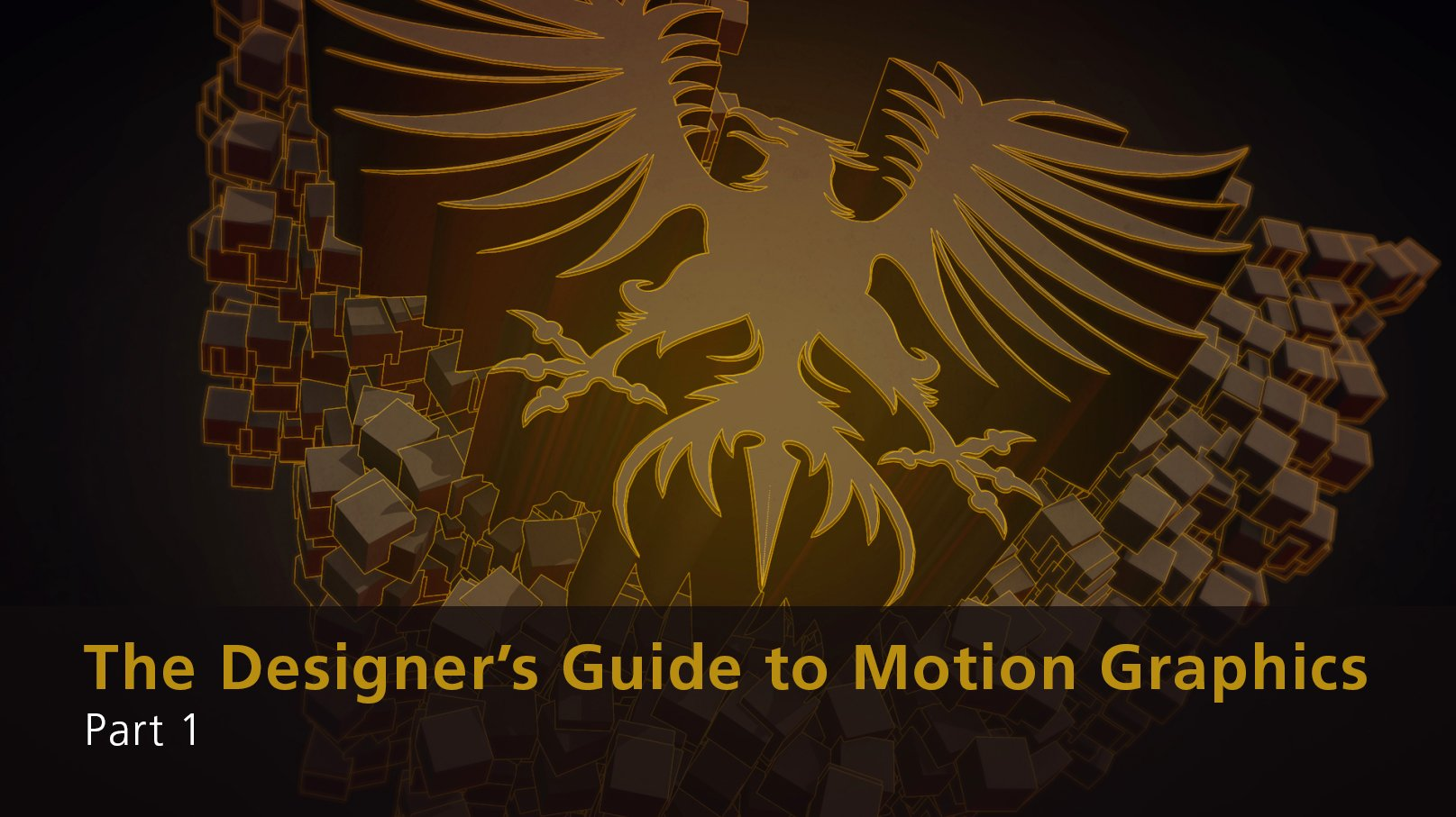 The Designer's Guide to Motion Graphics - Part 1