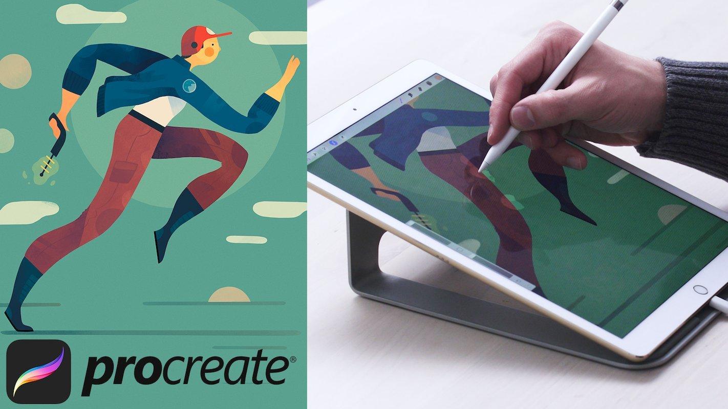 Digital Illustration: Learn to Use Procreate