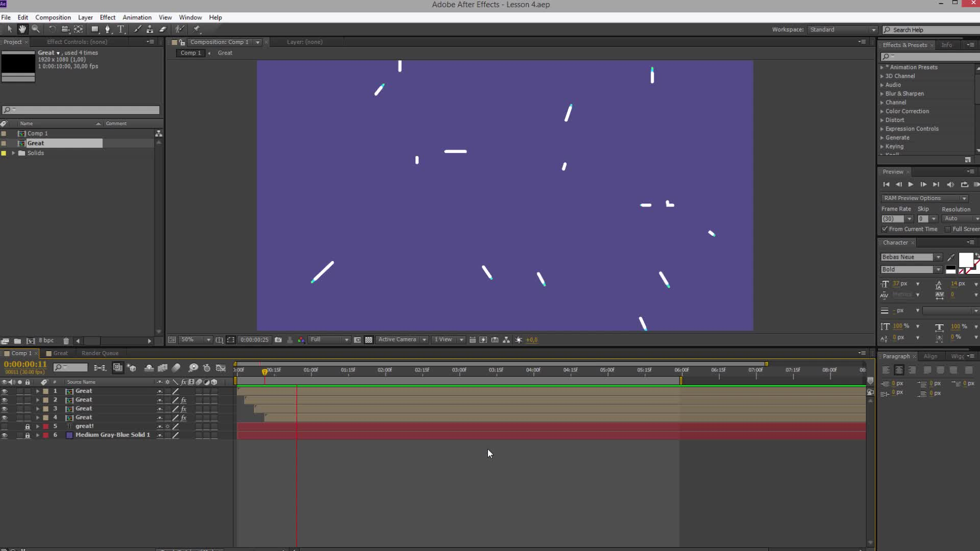 After Effects Motion Graphics 101: Typographic Line Logo Reveal ...