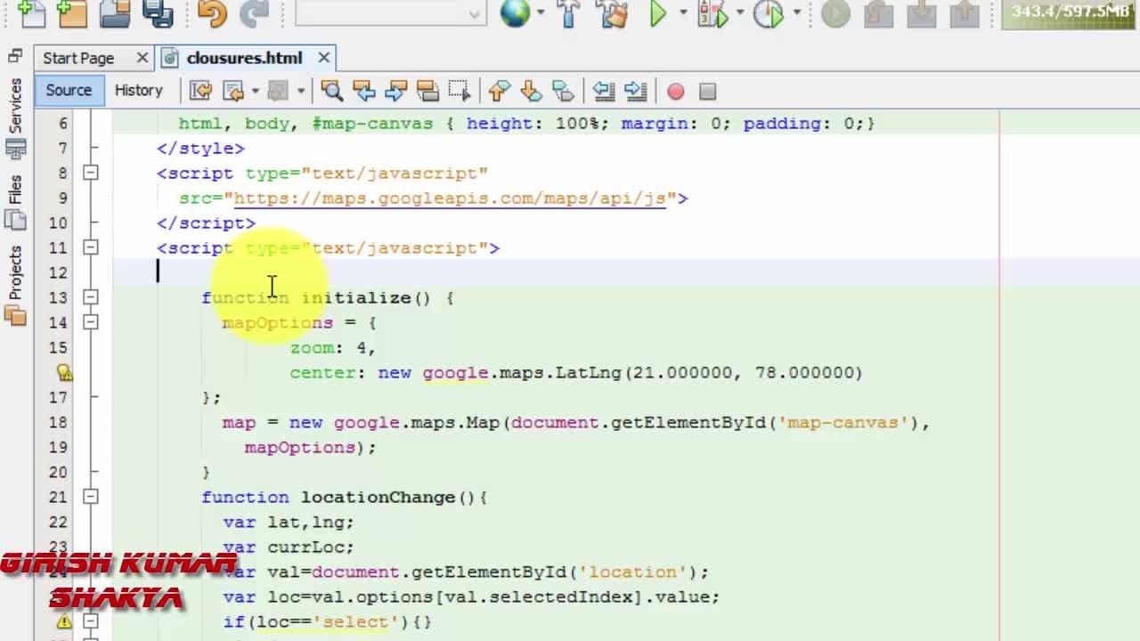 Google Map JavaScript API for Beginners   Girish Shakya   Skillshare