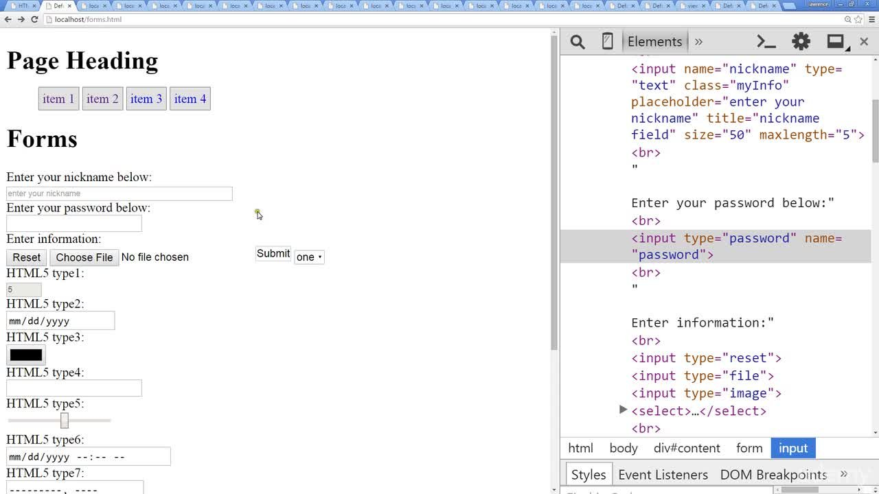 Web Development Introduction HTML to HTML5 | Laurence Svekis