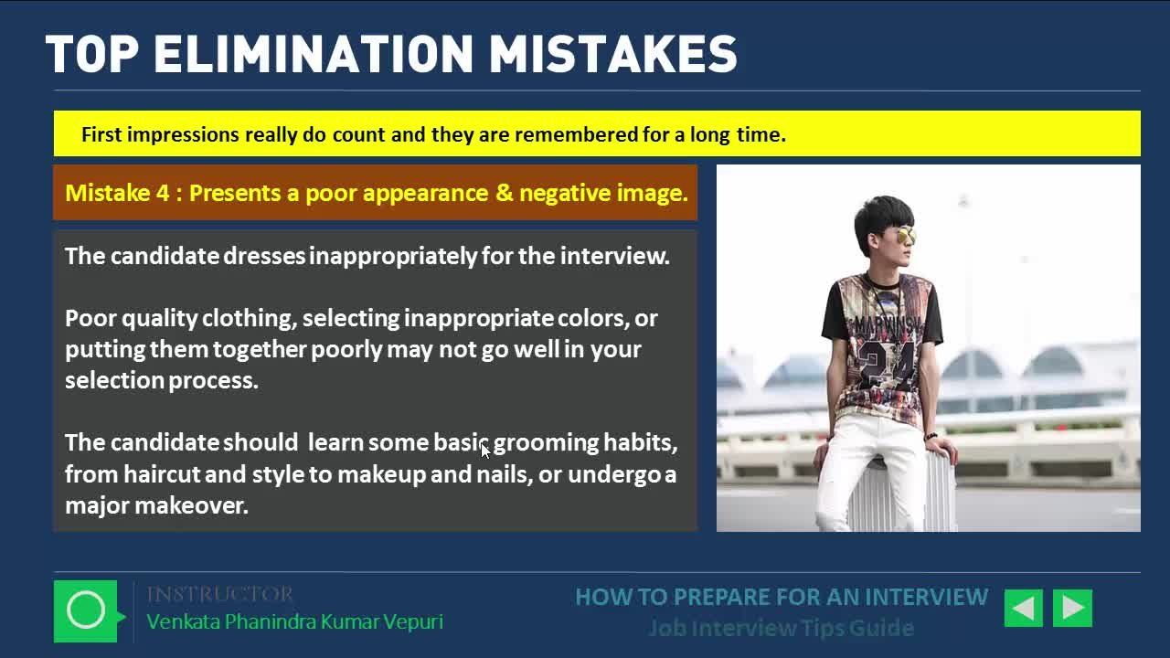 How To Prepare For An Interview   Job Interview Tips Guide   Venkata  Phanindra Kumar Vepuri   Skillshare