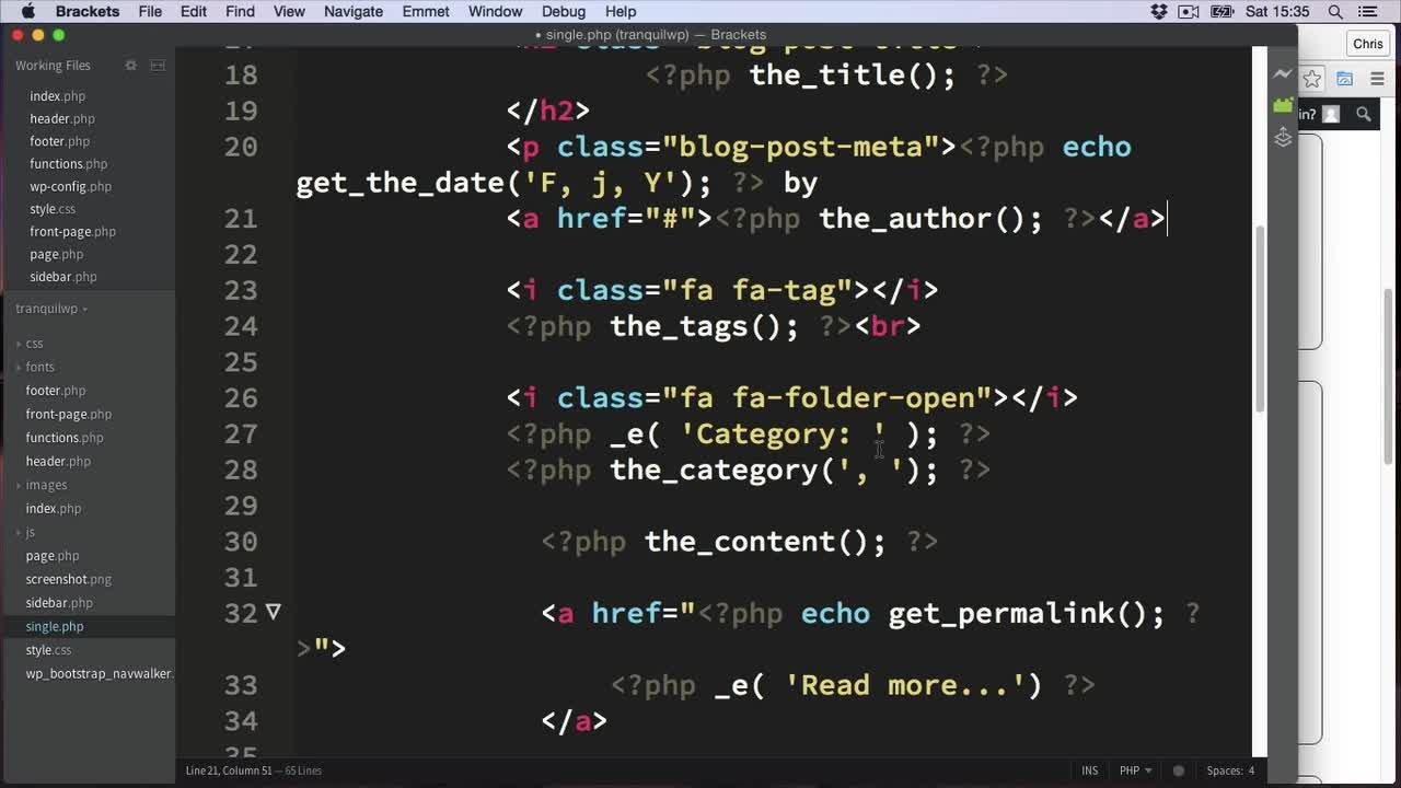 Bootstrap to WordPress: Build Custom Responsive themes! | Chris ...