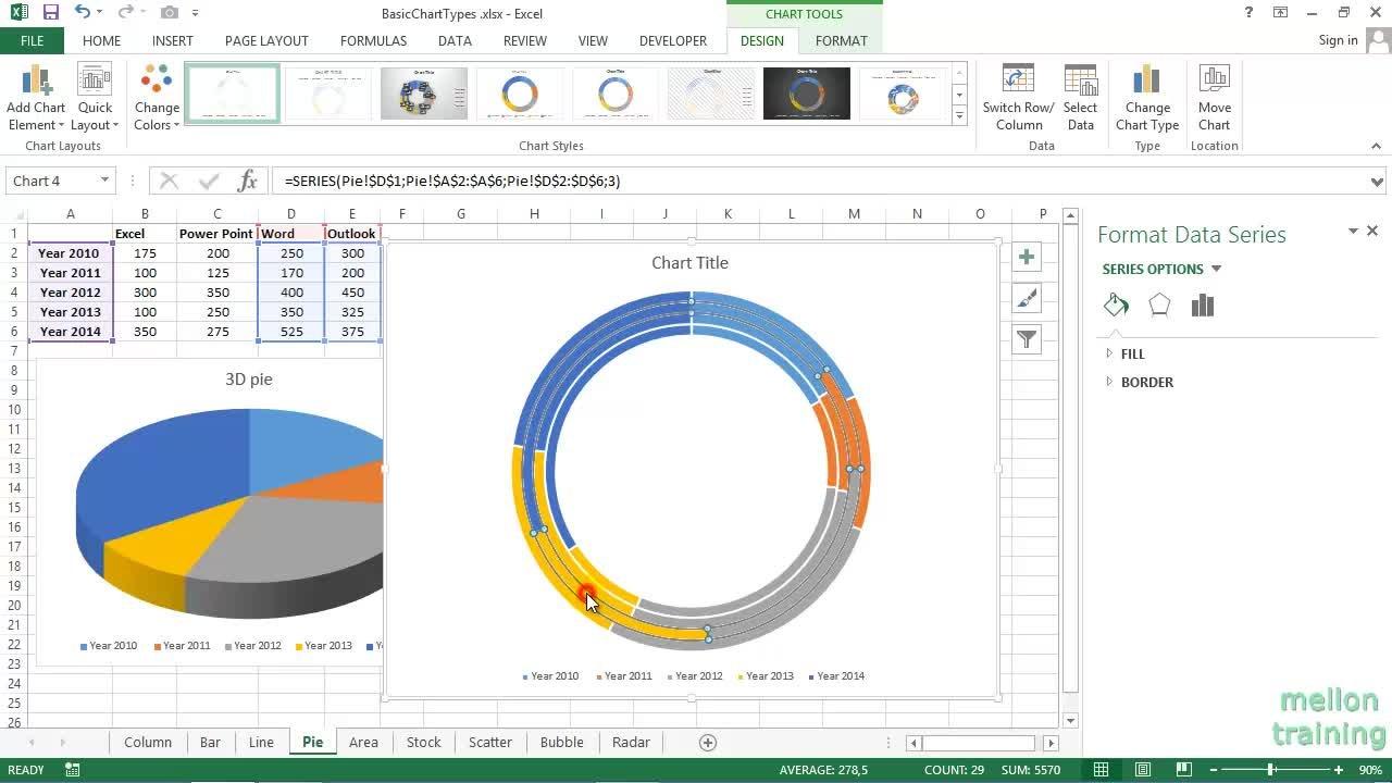 Microsoft Excel Charts For Beginners Andreas Exadaktylos Skillshare