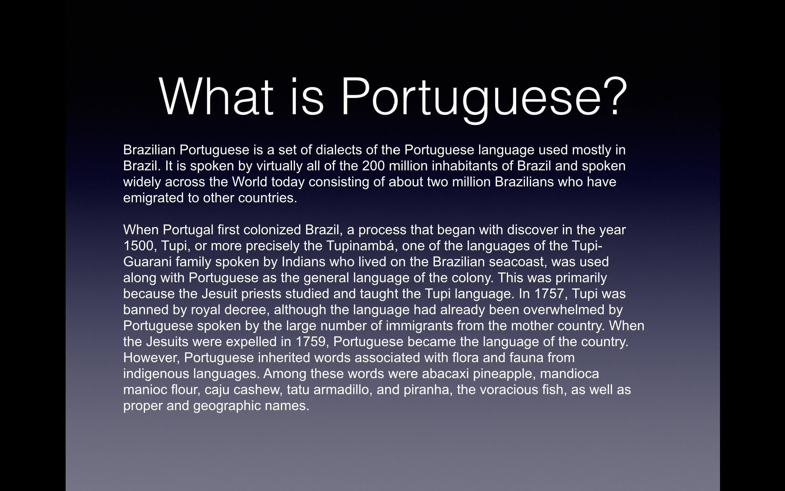 Introduction to brazilian portuguese kevin heckman skillshare m4hsunfo Gallery