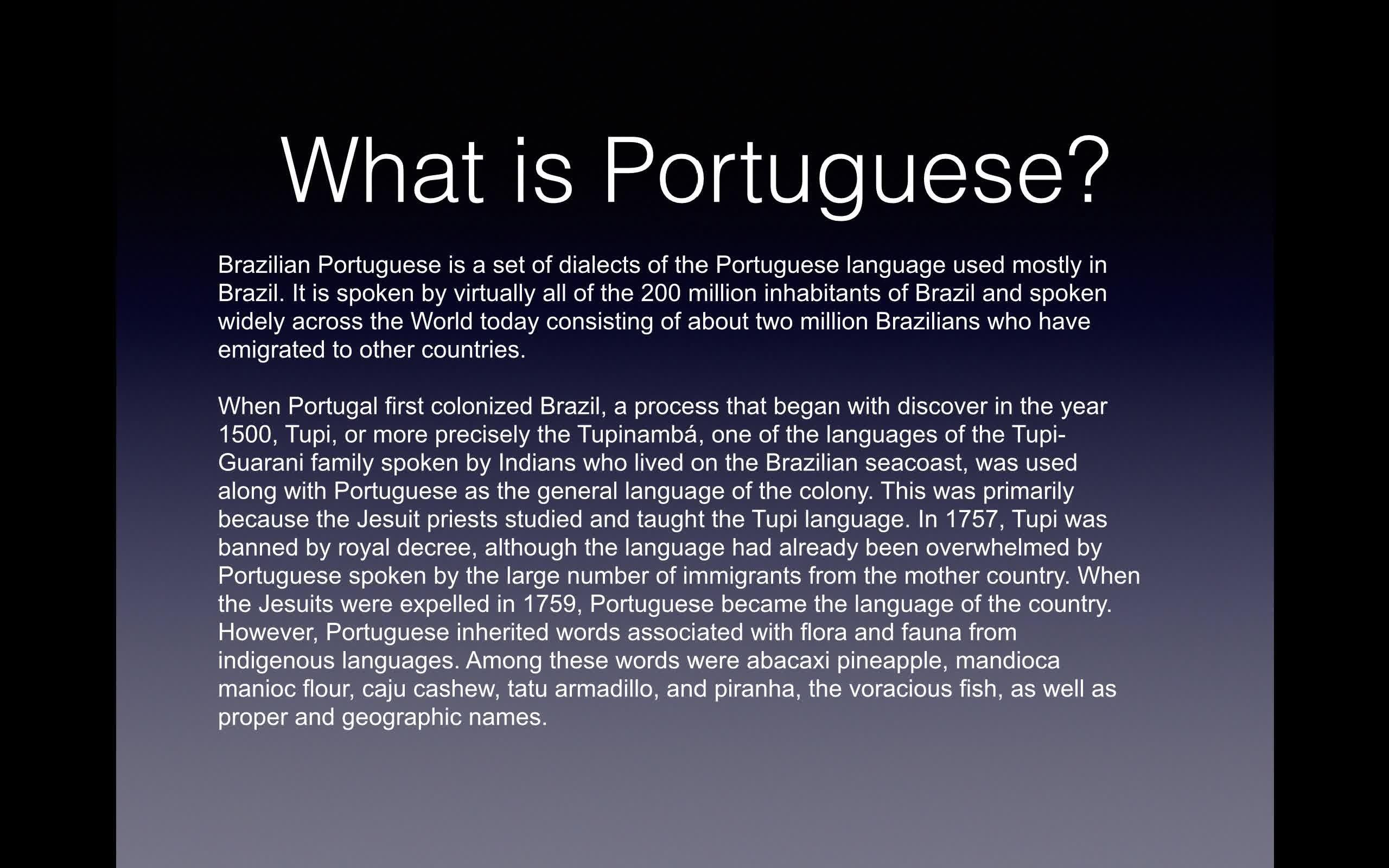 Introduction to brazilian portuguese kevin heckman skillshare m4hsunfo