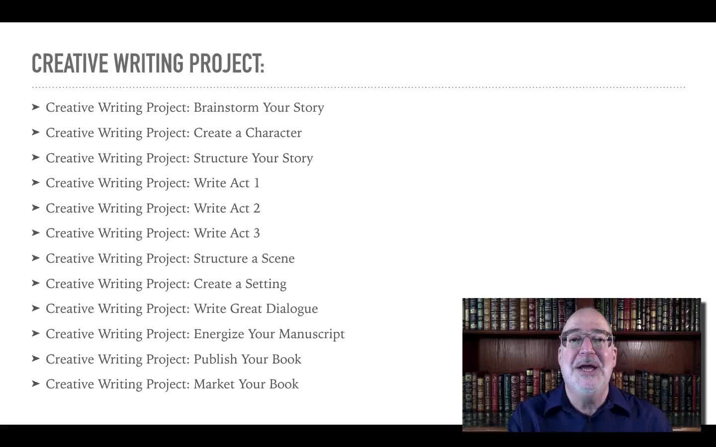 Creative Writing Project: Structure Your Story | Dani and Steve