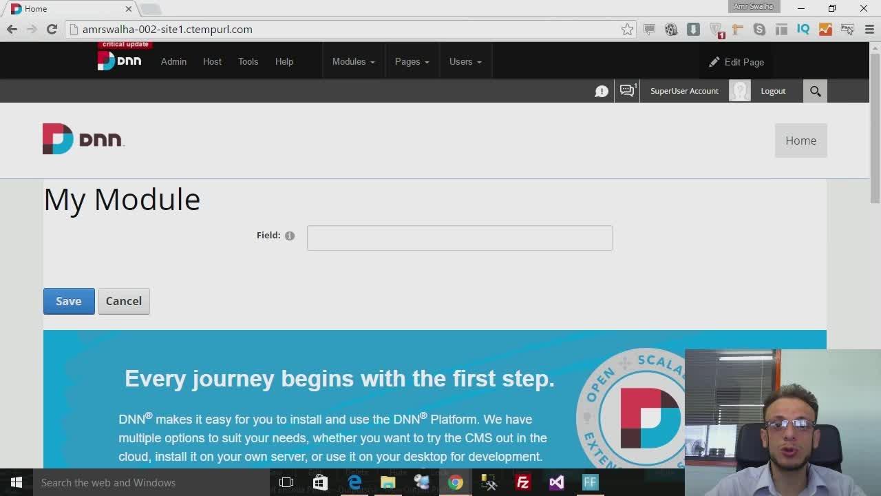 DotNetNuke Development Made Easy! | Amr Swalha | Skillshare
