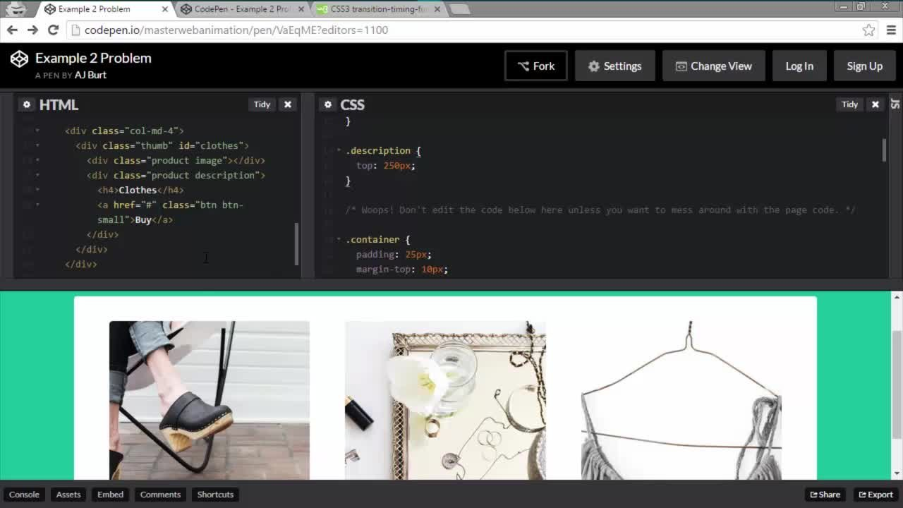 Pure CSS Animations - Make a cool button, a sliding modal, and a