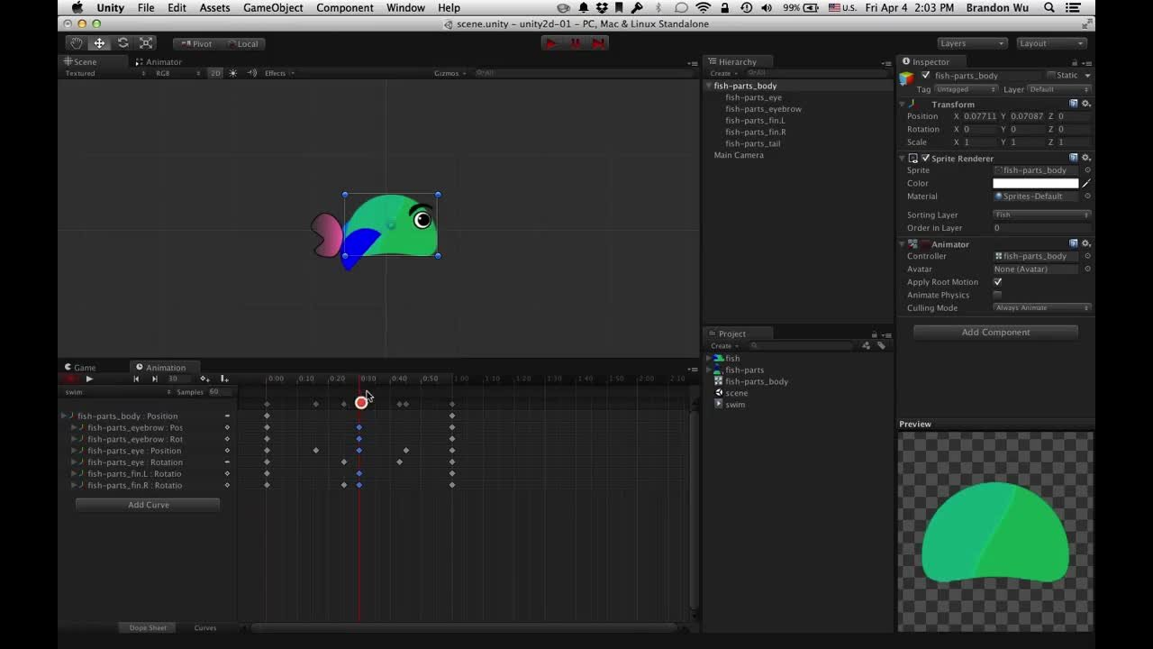 Make a 2D Platformer Video Game with Unity and PlayMaker (no coding