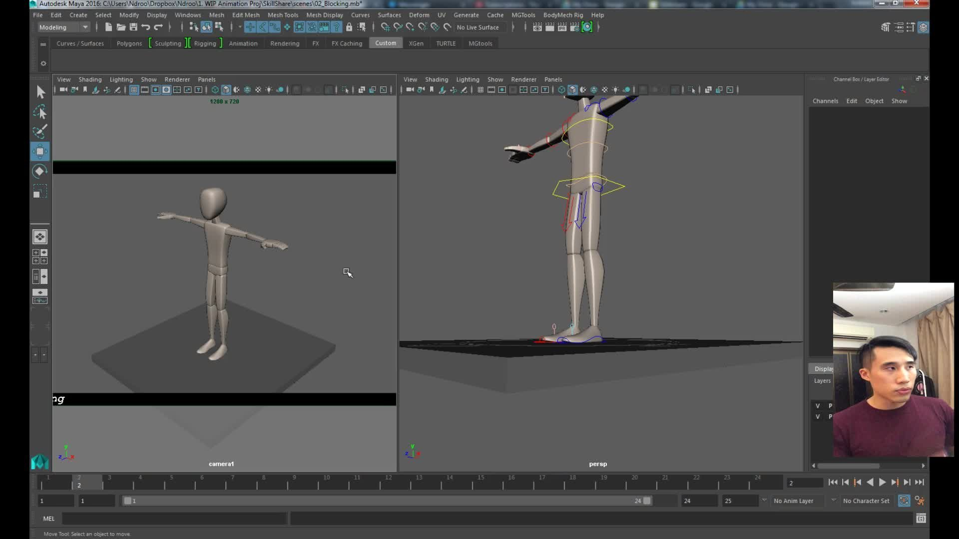 animation polishing techniques in maya