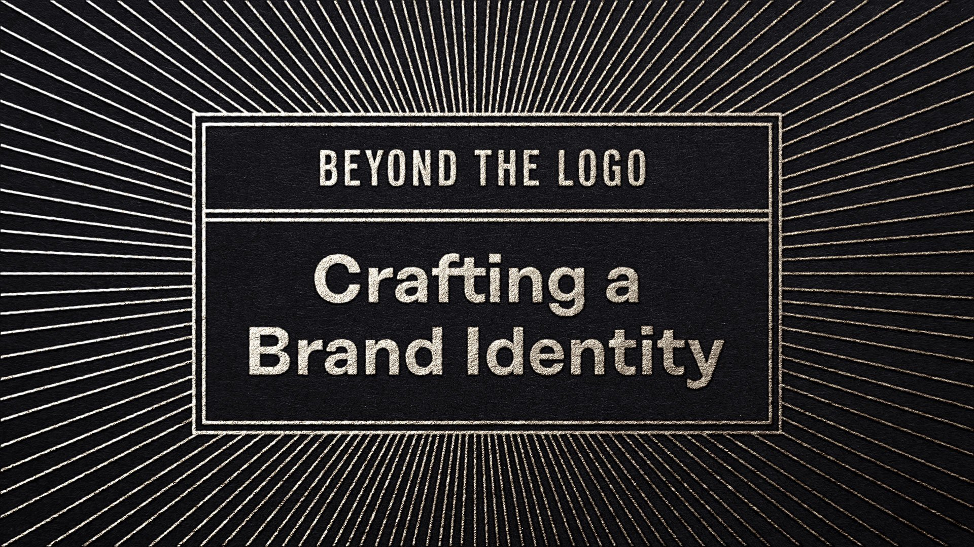 Beyond the Logo: Crafting a Brand Identity | Courtney Eliseo